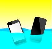 Smart Phone impermeabile Immagini Stock