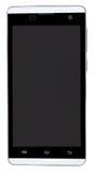 Smart phone isolated on white background stock image