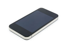 Smart phone isolated on white background. Stock Images