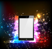 Smart Phone in lightstage Royalty Free Stock Images