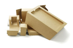 Smart Phone Packaging Cardboards Stock Photography