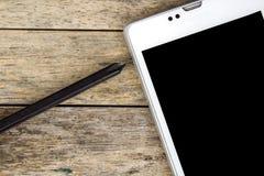 Smart phone and screwdriver for repair Stock Image
