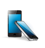 Smart phone set illustration design Royalty Free Stock Photography