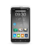 Smart Phone With Start Screen Interface Stock Images