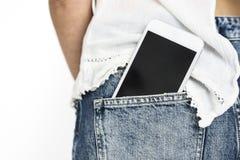 Smart Phone Telecommunication Talk Technology Stock Image