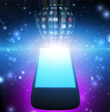Smart Phone. Video Sphere or Image Sphere Stock Photography