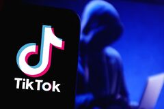 Free Smart Phone With TIK TOK Logo, Which Is A Popular Social Network On The Internet. Royalty Free Stock Photo - 170019725