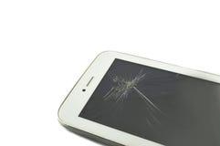 Smart Phoneon broken Stock Photography