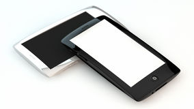 Smart phones Royalty Free Stock Photo