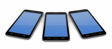 Smart phones Stock Image