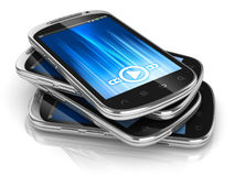 Smart phones Royalty Free Stock Photography
