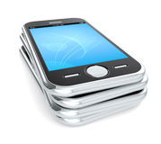 Smart Phones. Royalty Free Stock Photo