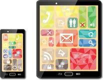 Smart phones Stock Photography