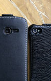 Smart phones looking at you. Two smart phones looking at you Royalty Free Stock Photo