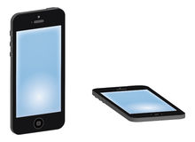 Smart Phones Royalty Free Stock Images