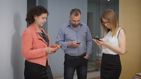 Smart phones and social networking sites have replaced the live communication. Obsurd, people prefer prilozhaniya chats. And personal contacts. The concept, the stock video footage