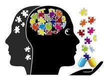Smart Pills against Dementia Stock Images