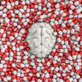 Smart pills Royalty Free Stock Photos