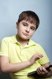 smart pojke Royaltyfria Bilder