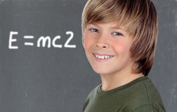 Smart preteen student Stock Photography