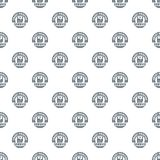 Smart printing service pattern vector seamless. Repeat for any web design Stock Images
