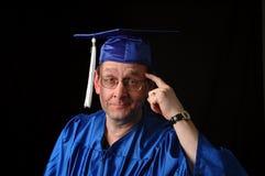 smart professor royaltyfri bild