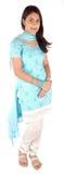 Smart punjabi girl royalty free stock photos