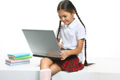 Smart pupil Stock Photos