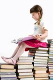 Smart reader Royalty Free Stock Photo