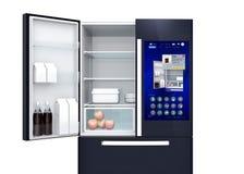Smart refrigerator concept Royalty Free Stock Photos