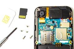 Smart ringer reparerar. arkivfoton