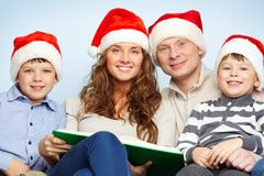 Smart Santas Stock Images