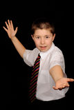 Smart School Boy Stock Photo