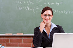 Smart School Teacher Stock Photos