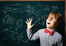 Smart schoolboy Stock Photography
