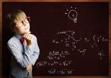 Smart schoolboy Royalty Free Stock Image