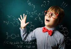 Smart schoolboy Royalty Free Stock Photography