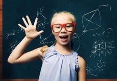 Smart schoolgirl Royalty Free Stock Photos
