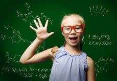 Smart schoolgirl Royalty Free Stock Image