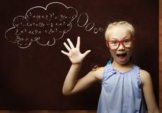 Smart schoolgirl Royalty Free Stock Photo