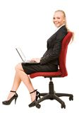 Smart secretary Royalty Free Stock Photo