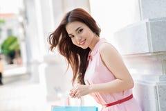 Smart shoppare Royaltyfri Bild