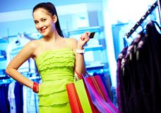 Smart shopper Stock Photos