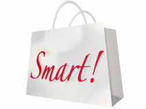 Smart Shopping Bag Best Deals Store Royalty Free Stock Photos