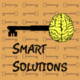 Smart solutions Stock Photo