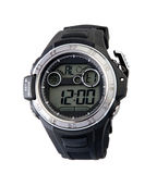 Smart sport wristwatch. For men who likes adventure or hiking Stock Images