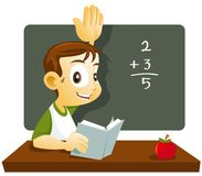 Smart Student Royalty Free Stock Image