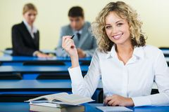 Smart student Stock Photos