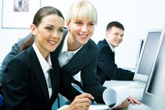 Smart students Royalty Free Stock Photography