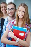 Smart students Royalty Free Stock Images